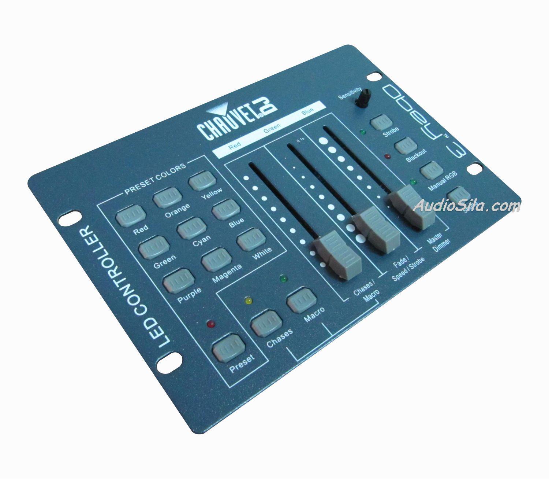 Инструкция dmx контроллером
