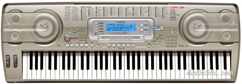 NEW DRIVER: CASIO WK3800 USB