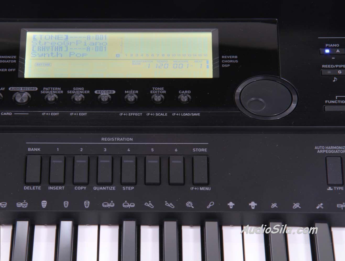 Скачать драйвер для синтезатора casio wk 3800